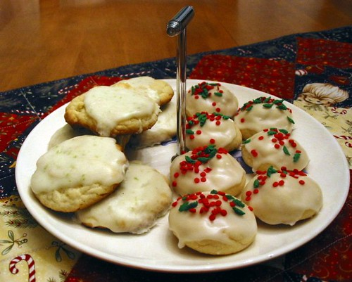 First Christmas Cookie Plate, 2008