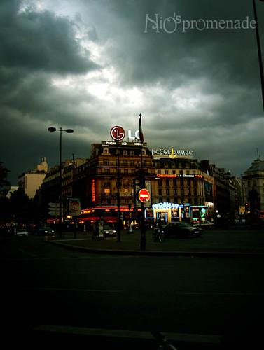 你拍攝的 Montparnasse。