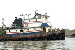 BUCHANAN 10 Tugboat on the Hutchinson River, Bronx NYC (jag9889) Tags: park city nyc ny newyork river bay boat bronx buchanan maritime kayaking tugboat tug eastchester 2008 pelham pelhambay hutchinsonriver buchananmarine buchanan10 y2008 jag9889
