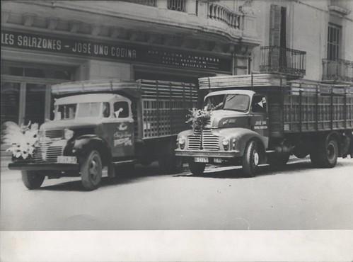 camions de Ca l'Uñó de Ripoll (Girona)