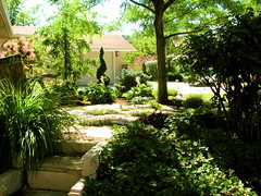 Laura and Andy's Yard (boisebluebird) Tags: trees beauty stone garden landscape michael plantas jardin boise arbor walkway entryway balance luxury pathway toolson syringacompany michaeltoolson boisebluebirdcom httpwwwboisebluebirdcom boiselandscaping boisegardener