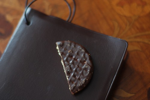 dark choc biscuit