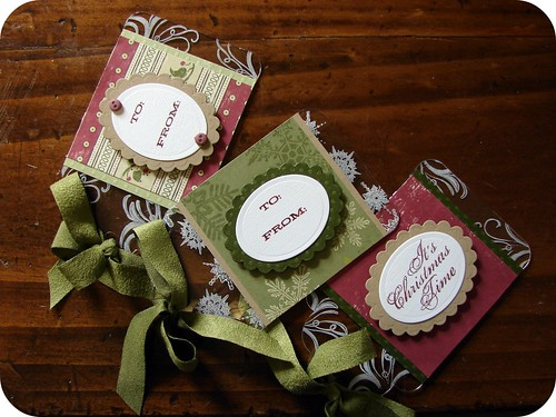 Acetate Holiday Tags