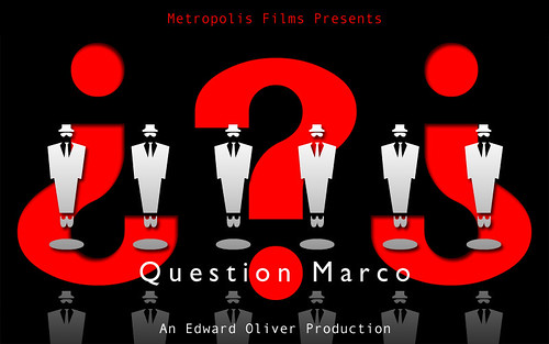 Question Marco - Independent Film Poster