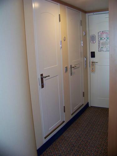 Doors to shower & Bath