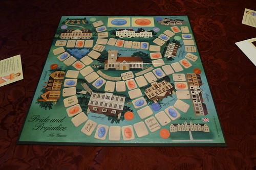 jane austen board game