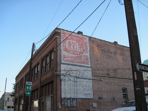 Ghost Signs, Birmingham, Alabama by fables98