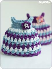bell dress (_vasilka_) Tags: doll dress handmade mary crochet clothes bjd puki