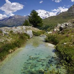 Stafelalp, Zermatt (pierre hanquin) Tags: mountains alps color nature berg montagne alpes landscape geotagged schweiz switzerland nikon suisse pierre zermatt helvetia svizzera paysage wallis ch valais montagnes d90 myswitzerland hanquin