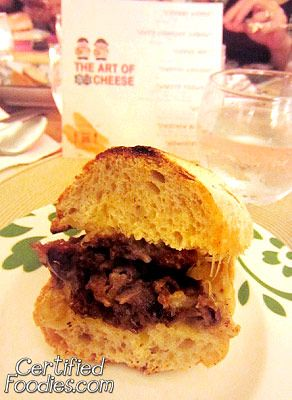 Cheese Louise - Ciabatta with Angus Beef and Perfect Italiano Mozzarella - CertifiedFoodies.com