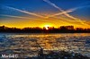 Tramonto sul Ticino (Luca Morlok) Tags: sunset sky panorama sun sunlight nature river ticino nikon tramonto milano fiume natura cielo lombardia lombardy cuggiono d7000 lucamorlok