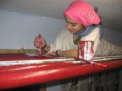 Pipis pintando
