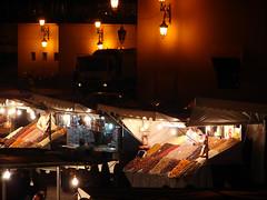 Djemaa el Fna (carolineCCB) Tags: night market marrakech djemaaelfna