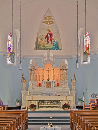 Saint Joseph Roman Catholic Church, in Bonne Terre, Missouri, USA - sanctuary