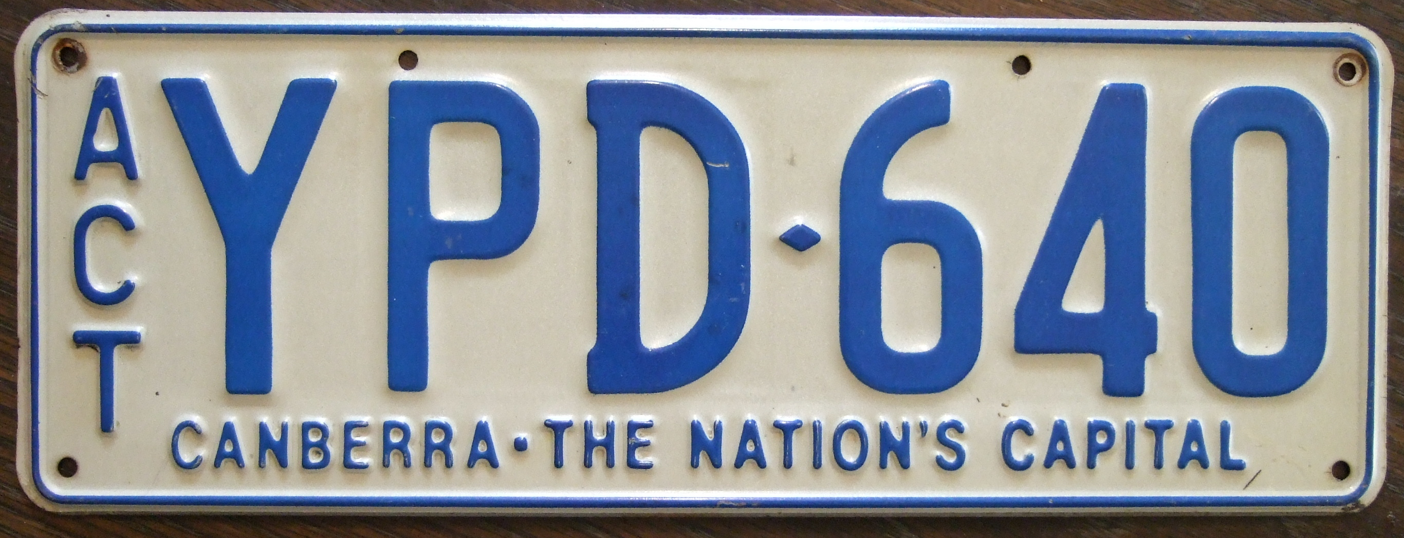 Car colour number plate - For Example Slimline Size Number Plates
