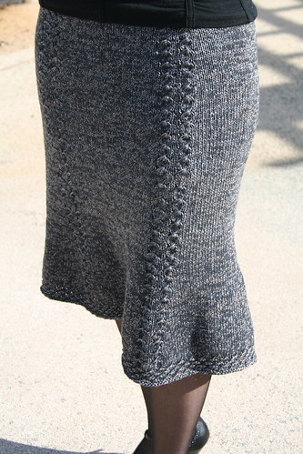 Bell Curve Skirt Front View