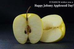 Happy Johnny Appleseed day! - by funadium