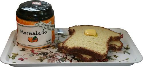 Marmalade Jar & Toast Cake
