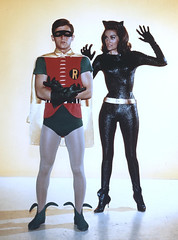 Robin and Catwoman (Vectra-1) Tags: robin batman catwoman burtward leemeriwether