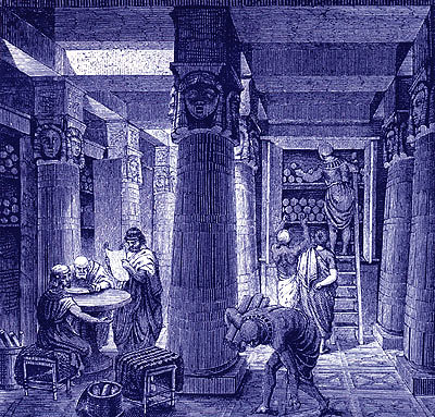 Antigua Biblioteca de Alejandrá