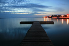 Still..... (MC's Camra) Tags: street longexposure light sea sky lake water night clouds coast pier still marine dusk jetty wirral westkirby blueribbonwinner theunforgettablepictures absolutelystunningscapes