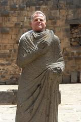 Fred as a Roman citizen (CharlesFred) Tags: peace syria hospitality siria honour  syrien syrie bosra suriye  syrianarabrepublic    bosrasham shoufsyria    welovesyria aljumhriyyahalarabiyyahassriyyah siri