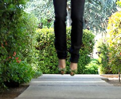 jump (strawberriebld) Tags: portrait me fashion self lens jump nikon thinks wrong d80 quiltingmadnessgroup