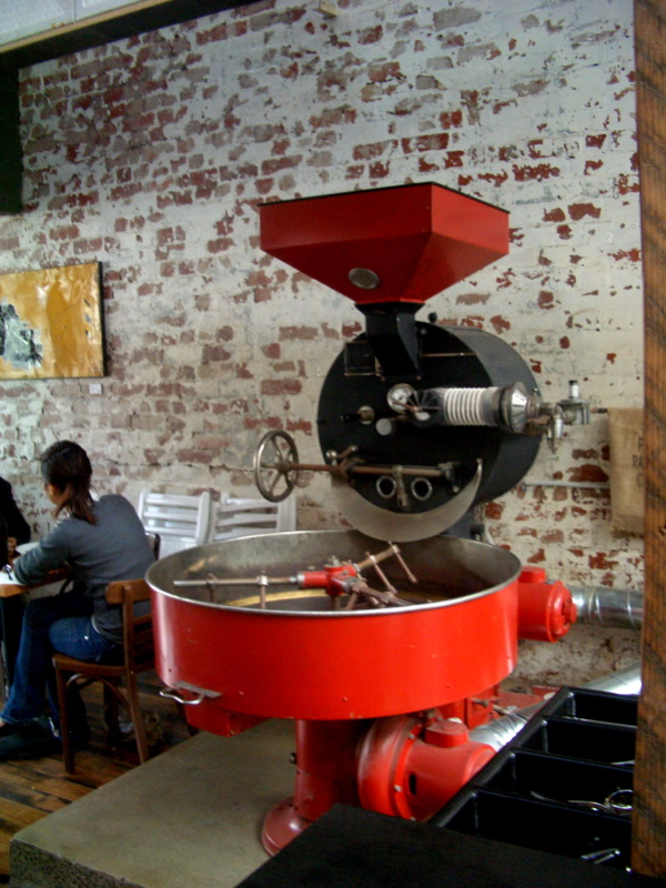 Auction Rooms coffee roaster