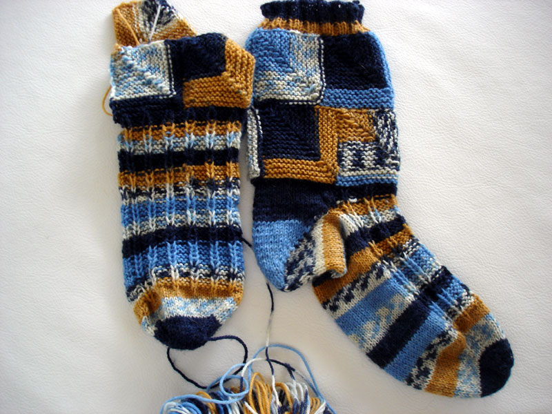 Smoking Hot Socks, almost done