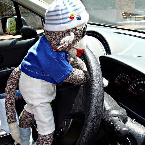 Here is Ken. He is wondering how to drive the car.
