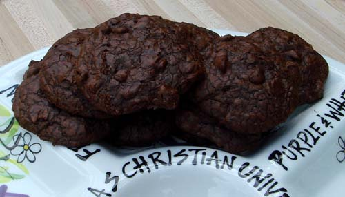 Triple Choc Cookies 4