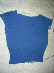 V-neck Pullover from Fitted Knits