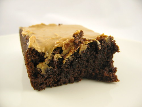 Brownie with Peanut Butter Ganache