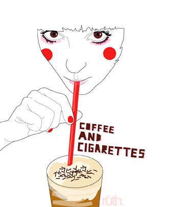 coffee and cigarettes. / Ruth Veres