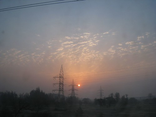 Another Indian sunset as seen from an overnight train