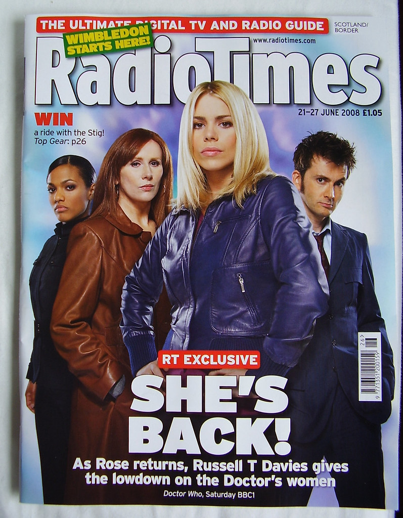 RADIO TIMES - Cover