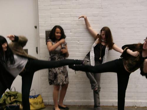 Everybody was kung fu fightin'!