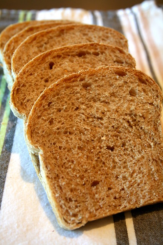 Whole Wheat Sesame Breads 009