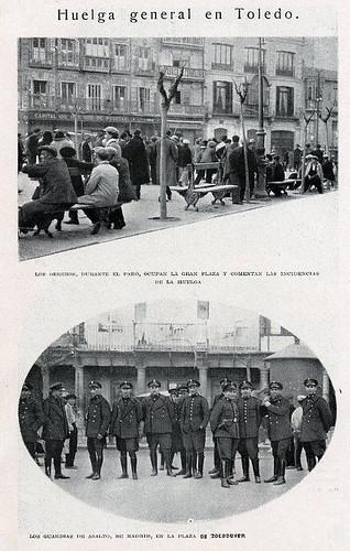 TOLEDO 1932 HUELGA HOJA REVISTA