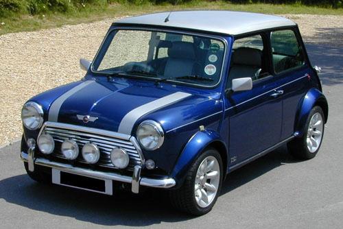 Foto de un Austin Mini Cooper S (1963)