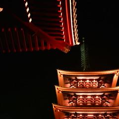 【写真】ミニデジで撮影した浅草寺五重塔