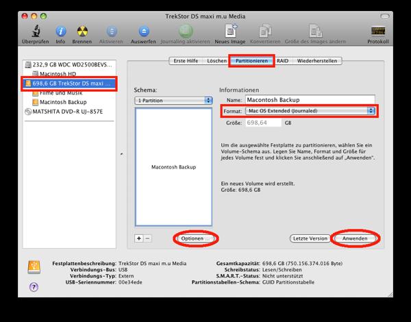 festplatte klonen mac festplatten dienstprogramm