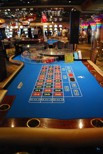 Roulette table by Lisa Brewster, on Flickr