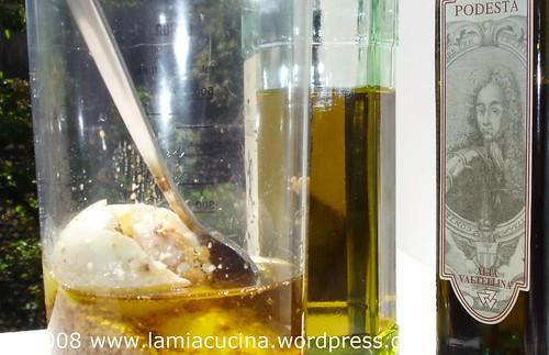 Herstellung der Saucenbasis, beobachtet von Graf von Salis-Zizers