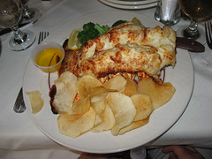 Spanish Tavern: New Zealand lobster tail