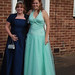 emma and yvette ready for prom. President Kennedy school.