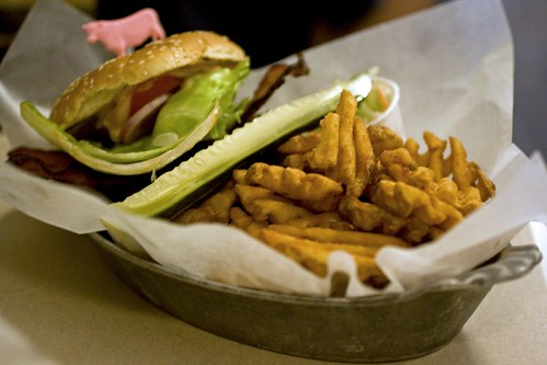 BLT Burger Combo