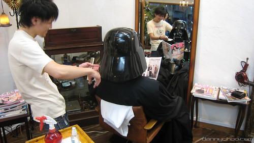 Vader Haircut