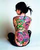 TattooInJapan (Needles and Sins (formerly Needled)) Tags: tattoo bodyart japanesetattoo horimono tebori needledcom tattooinjapan editionreuss backpieceasiaasianhonshujapanjapanesejaponskogirlglassesrinkotattoowomantokyojapan