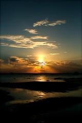 Sunset at Melawai (Ridho Nur Imansyah) Tags: travel sunset beach balikpapan